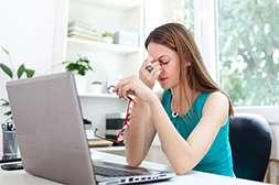 С Aquablue уходят усталость и болезненность глаз